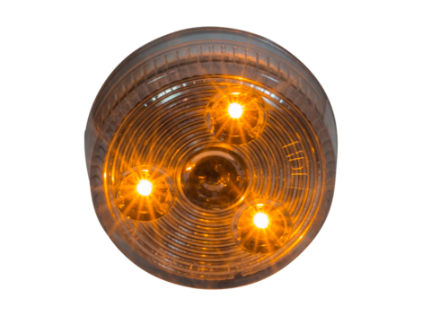 "2"" Round Clearance Marker Light - Heavy Duty Lighting"