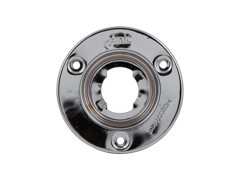 """2"""" Round Stainless Steel Security Flange - Heavy Duty Lighting"""