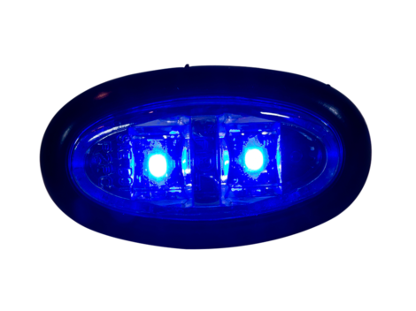 Mini Oval Clearance Marker Light - Heavy Duty Lighting