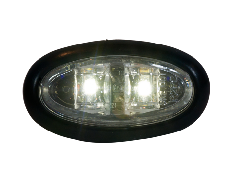 Mini Oval Flush Mount Utility Light - Heavy Duty Lighting Products