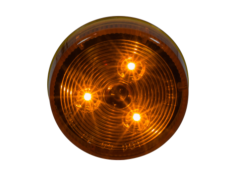 "2.5"" Round Clearance Marker Light - Heavy Duty Lighting"