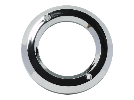 "2.5"" Chrome Plastic Bezel - Heavy Duty Lighting Products"