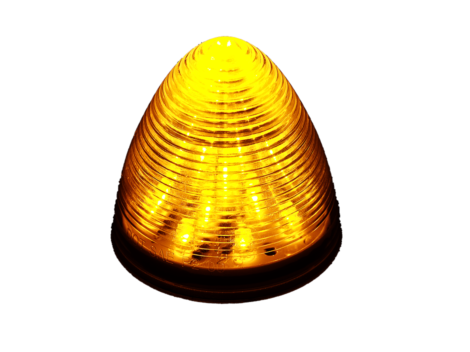 "2.5"" Beehive Clearance Marker Light - Heavy Duty Lighting Products"