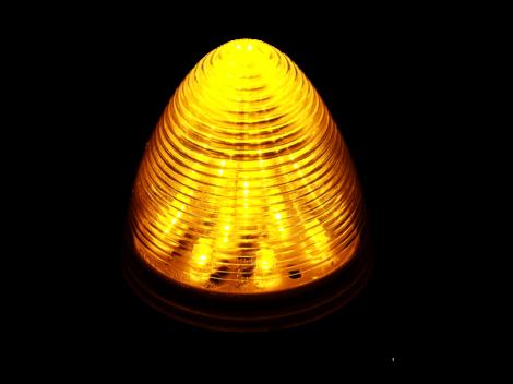 "2.5"" Beehive Clearance Marker Light - Heavy Duty Lighting"