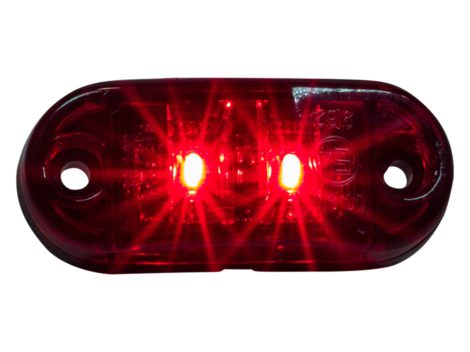 "2.5"" Oval Clearance Marker Light - Heavy Duty Lighting Products"