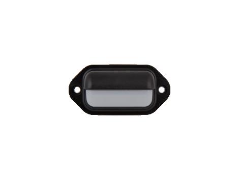 "2.6"" Rectangular Utility Light Black body - Heavy Duty Lighting"