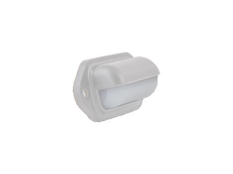 """2.6"""" Rectangular Utility Light White Body - Heavy Duty Lighting"""
