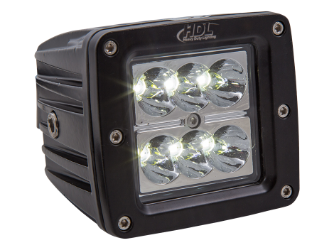 High Output Mini Square Work Light - Heavy Duty Lighting Products