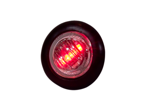 Mini Round 3-Wire Clearance Marker Light - Heavy Duty Lighting Products