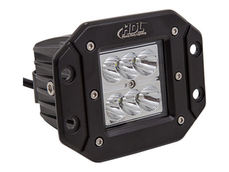 High Output Mini Flush Mount Work Light - Heavy Duty Lighting