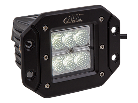 High Output Mini Flush Mount Work Light - Heavy Duty Lighting Products