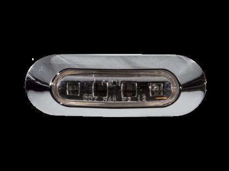 """3.75"""" Oval Clearance Marker Light - Heavy Duty Lighting"""