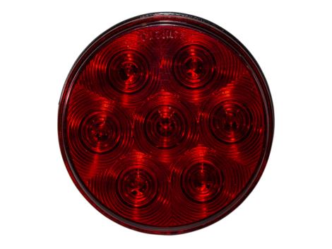 "4"" Round Stop Tail Turn Light - Heavy Duty Lighting Products"