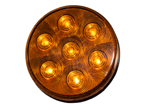 "4"" Round Park Turn Light - Heavy Duty Lighting"