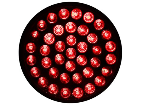 "4"" Round Clear Lens Stop Tail Turn Light - Heavy Duty Lighting Products"
