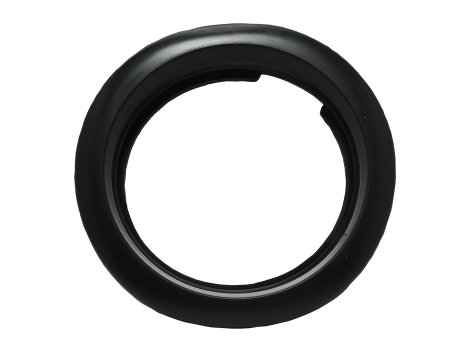 "4"" Black Grommet - Heavy Duty Lighting Products"
