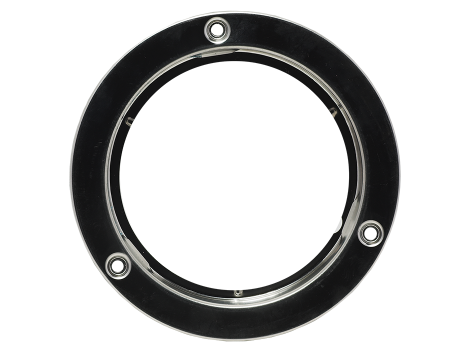 "4"" Stainless Security Flange - Heavy Duty Lighting Products"