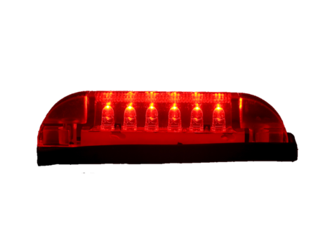 """4"""" Slim Line 3 Wire Clearance Marker Light - Heavy Duty Lighting Products"""