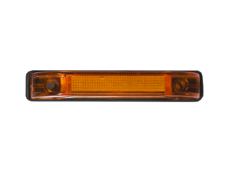 "4"" Slim Line 2 Wire Clearance Marker Light - Heavy Duty Lighting Products"