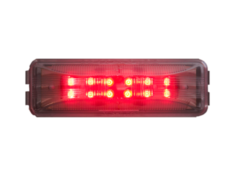 "4"" Rectangular Clearance Marker Light - Heavy Duty Lighting Products"
