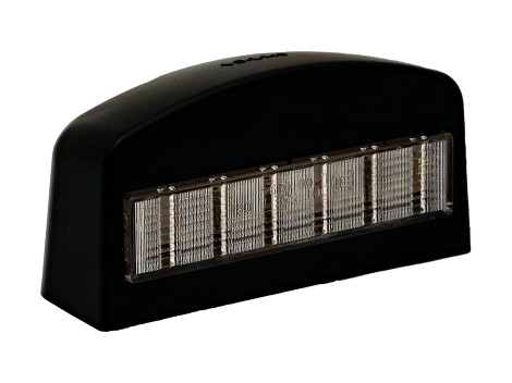 Black ABS License  Light - Heavy Duty Lighting