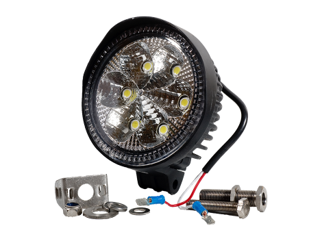 High Output Round Flood Light - Heavy Duty Lighting