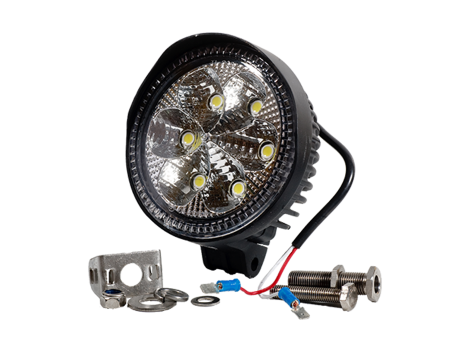 High Output Round Flood Light - Heavy Duty Lighting Products