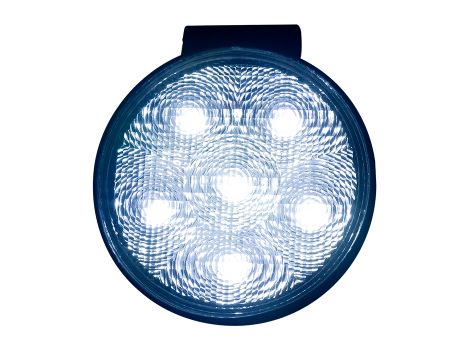High Output Round Slim Line Work Light - Heavy Duty Lighting