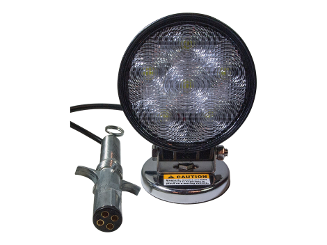 High Output Round Magnetic Base Work Light - Heavy Duty Lighting Products