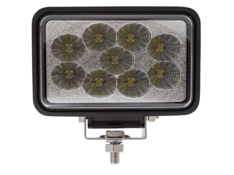 High Output Rectangular Work Spot Light - Heavy Duty Lighting Products