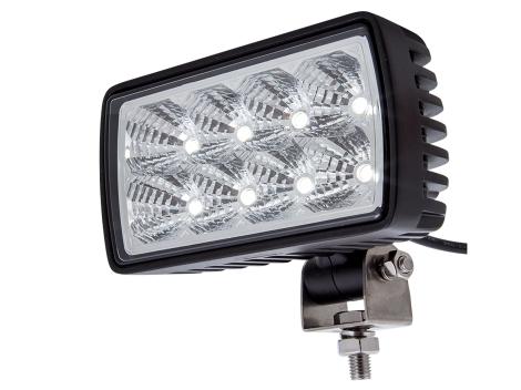 High Output Rectangular Work Spot Light - Heavy Duty Lighting