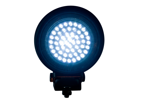 Round Work Light   Rubber Housing - Heavy Duty Lighting
