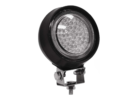 Round Work Light | Rubber Housing - Heavy Duty Lighting Products