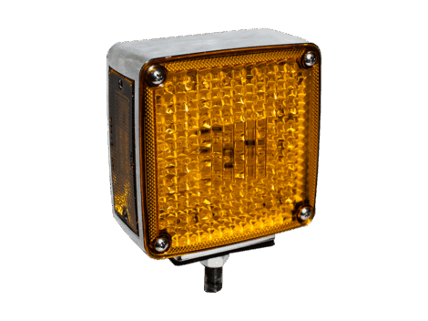 "Single Post 5"" Pedestal Park Turn Light 