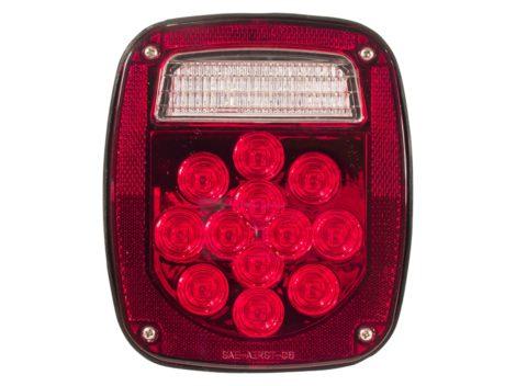 Universal Square Combination Box Light - Heavy Duty Lighting
