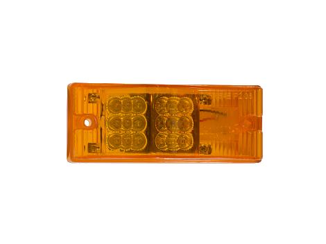 "2"" x 6"" Rectangular Surface Mount Turn Marker Light - Heavy Duty Lighting"