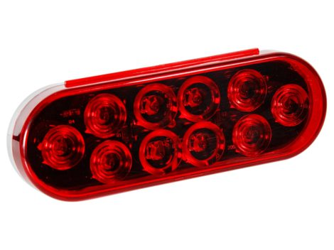 "6"" Oval Stop Tail Turn Light - Heavy Duty Lighting"