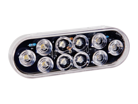 "6"" Oval Backup Light - Heavy Duty Lighting Products"