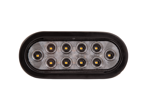 "6"" Oval Backup Light - Heavy Duty Lighting"
