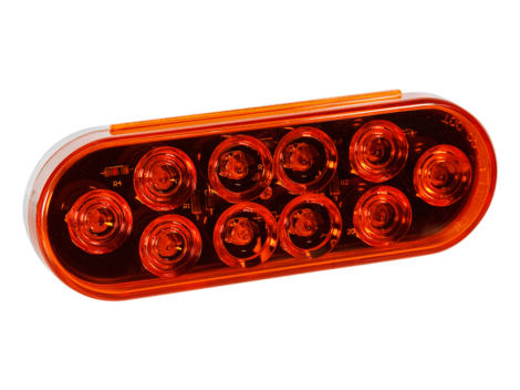 "6"" Oval Park Turn Light - Heavy Duty Lighting Products"