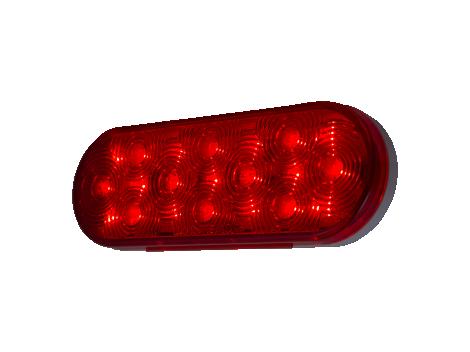"6"" Oval Stop Tail Turn - Heavy Duty Lighting"