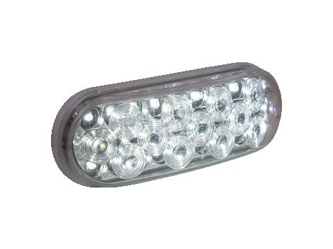 "6"" Oval Backup Light w/Reflector - Heavy Duty Lighting Products"