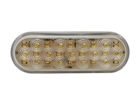 "6"" Oval Backup Light - Heavy Duty Lighting"