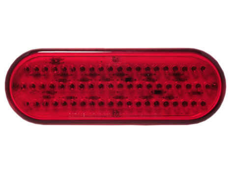 "6"" Oval Stop Tail Turn Light - Heavy Duty Lighting Products"