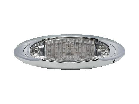 """6"""" Oval Clearance Marker Light - Heavy Duty Lighting"""