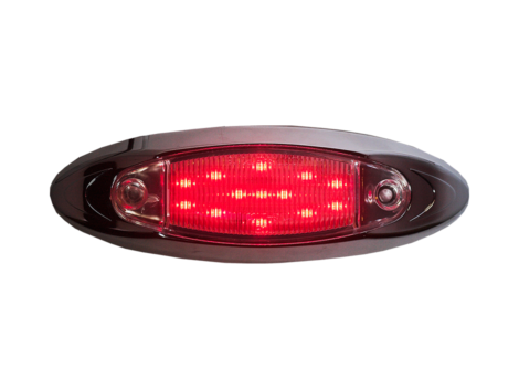 "6"" Oval Clearance Marker Light - Heavy Duty Lighting"