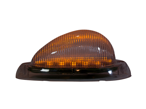 Freightliner® 3-Wire Teardrop Side Marker Turn Light - Heavy Duty Lighting