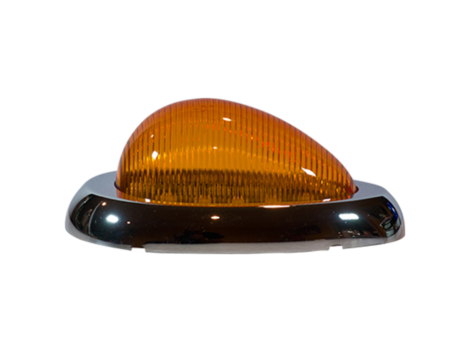 Freightliner® 3-Wire Teardrop Side Marker Turn Light - Heavy Duty Lighting Products
