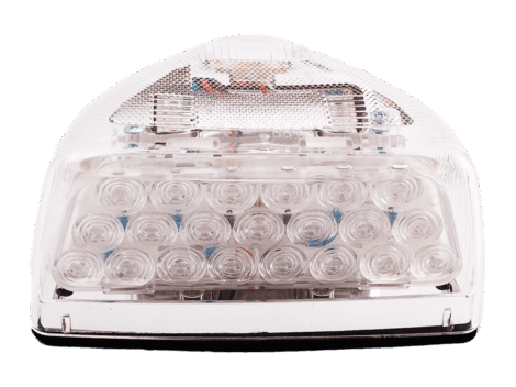 Peterbilt®  Clear Lens Park Turn Marker Assembly - Heavy Duty Lighting Products