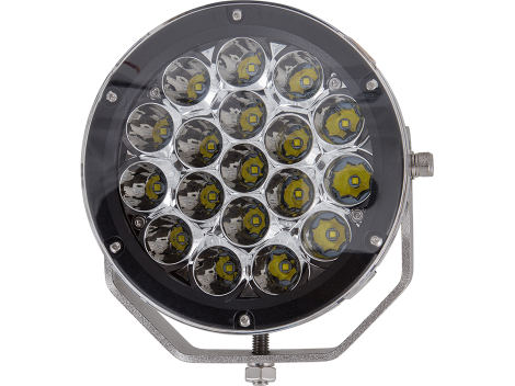 """Super High Output 7"""" Round Spot Light - Heavy Duty Lighting Products"""